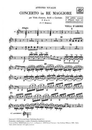 Vivaldi: Concerto FII/5 (RV392) in D major