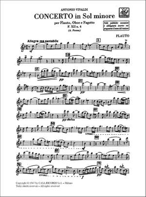 Vivaldi: Concerto FXII/4 (RV103) in G minor