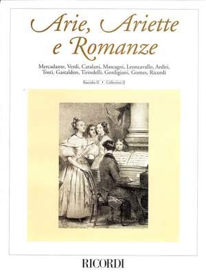 Various: Arie, Ariette e Romanze Vol.2 (high/med)