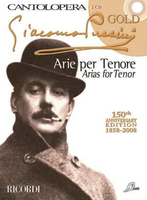 Puccini: Arias for Tenor (Cantolopera Gold Edition)
