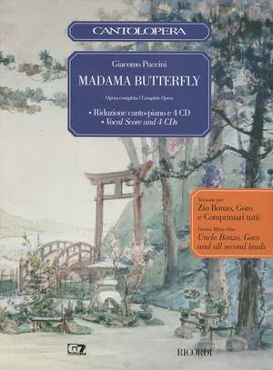 Puccini: Madama Butterfly: Second Lead Edition (Cantolopera)