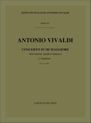 Vivaldi: Concerto FI/127 (RV271) in E major