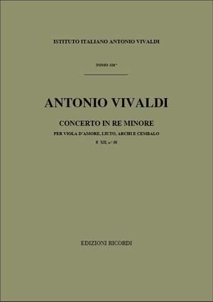 Vivaldi: Concerto FXII/38 (RV540) in D minor