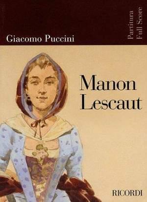 Puccini: Manon Lescaut (New Edition)