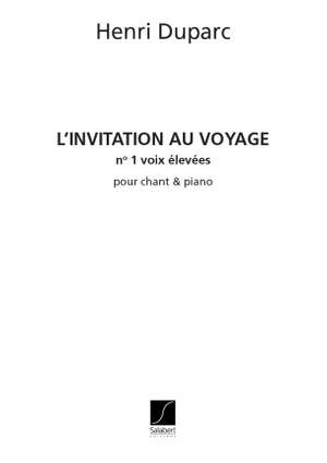 Duparc: Invitation au Voyage (high)