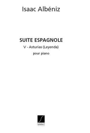 Albéniz: Asturias Op.47, No.5 (arr. J.Salvat)