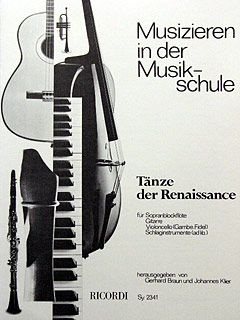 Braun: Tänze der Renaissance