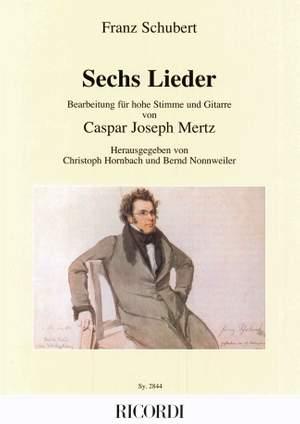 Schubert: Lieder Op.13 (high)