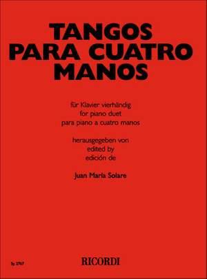 Various: Tangos para 4 Manos