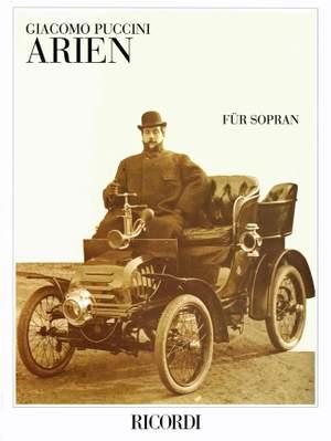 Puccini: Arias for Soprano (Ricordi Munich)