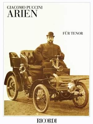 Puccini: Arias for Tenor (Ricordi Munich)