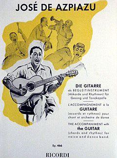 Azpiazu: Gitarrenschule der Begleitung