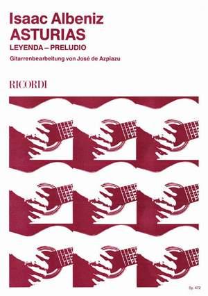 Albéniz: Asturias Op.47, No.5 (ed. J.de Azpiazu)