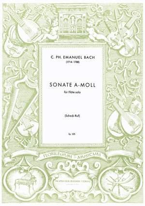 Bach: Sonata Wq132 in A minor