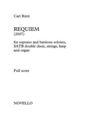 Carl Rütti: Requiem (Full Score)