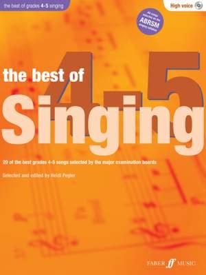 Heidi Pegler: The Best of Singing 4-5 (High Voice)