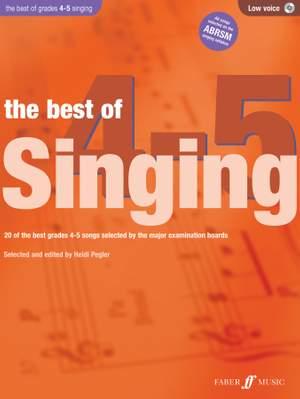 Heidi Pegler: The Best of Singing 4-5 (Low Voice)