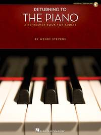 Returning To The Piano (Refresher Book for Adults)
