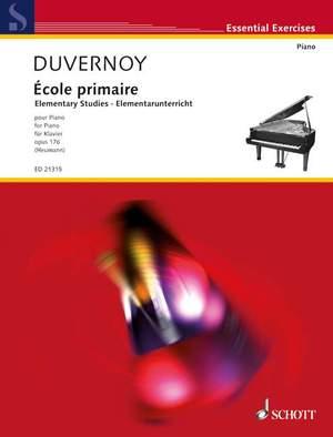 Duvernoy, J: Elementary Studies op. 176