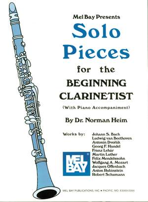 Dr. Norman Heim: Solo Pieces For The Beginning Clarinetist