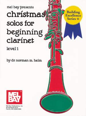 Christmas Solos For Beginning Clarinet Level 1