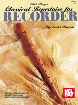 Costel Puscoiu: Classical Repertoire For Recorder