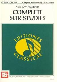David Grimes: Complete Sor Studies For Guitar