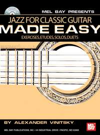 Alexander Vinitsky: Jazz For Classic Guitar Made Easy Book/Cd Set