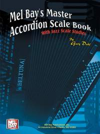 Gary Dahl: Master Accordion Scale Book