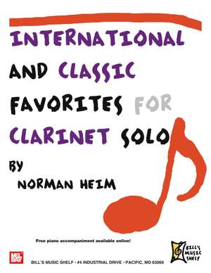 Dr. Norman Hein: International and Classic Favorites for Clarinet