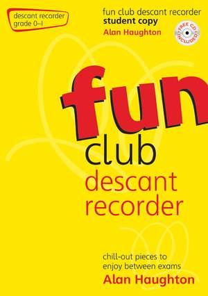 Haughton: Fun Club Descant Recorder Grade 0-1 - Student Copy