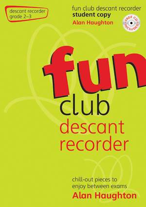 Haughton: Fun Club Descant Recorder Grade 2-3 - Student Copy