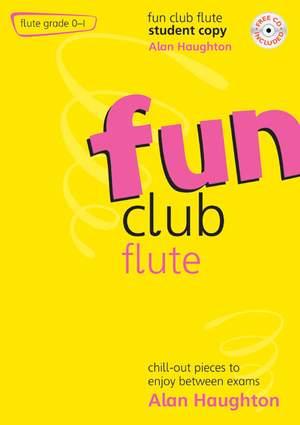 Haughton: Fun Club Flute Grades 0-1 - Student Copy Product Image
