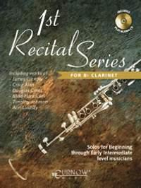 Lindsay: 1st Recital Series for Bb Clarinet