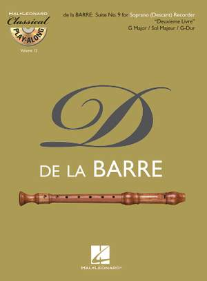 Barre: Suite No. 9 for Soprano (Descant) Recorder