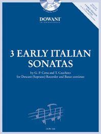 Cima: 3 Early Italian Sonatas