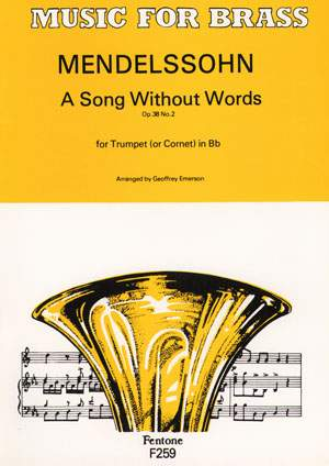 Bartholdy: A Song Without Words Op. 38 No. 2