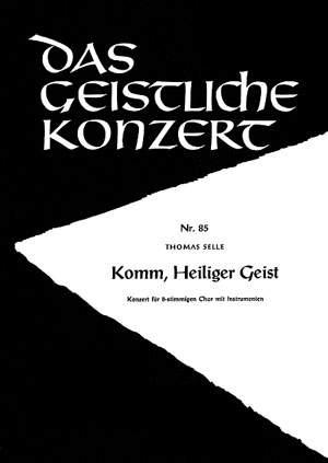 Selle: Komm, Heiliger Geist (F-Dur)