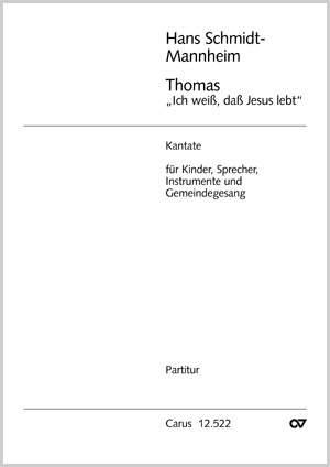Schmidt-Mannheim: Thomas, ich weiß, daß Jesus lebt
