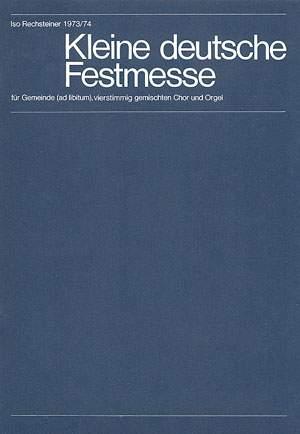 Rechsteiner: Kleine deutsche Festmesse