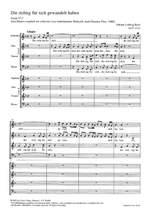 Bach, JL: Die richtig für sich gewandelt haben (F-Dur) Product Image