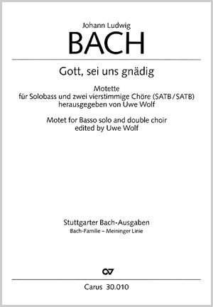 Bach, JL: Gott, sei uns gnädig (B-Dur)