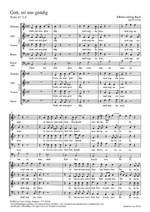 Bach, JL: Gott, sei uns gnädig (B-Dur) Product Image