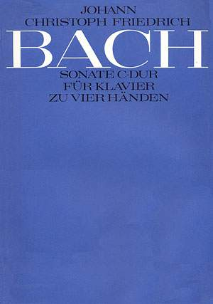 Bach, JCF: Sonate in C (BR JCFB A 41; C-Dur)