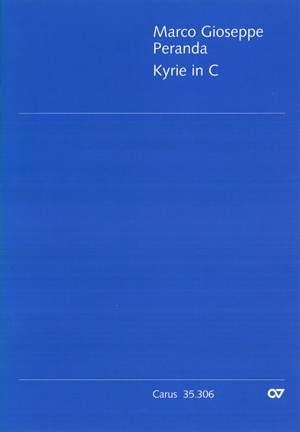 Peranda: Kyrie in C (C-Dur)