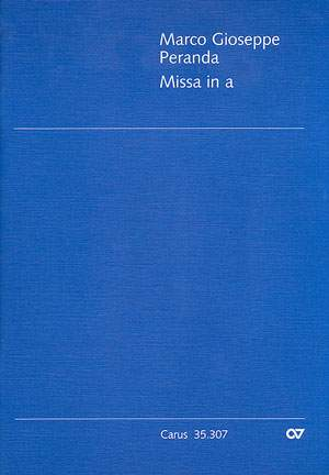 Peranda: Missa in a (Kyrie und Gloria) (a-Moll)