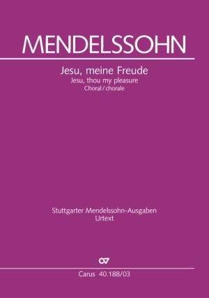 Crüger/Mendelssohn: Jesu, meine Freude