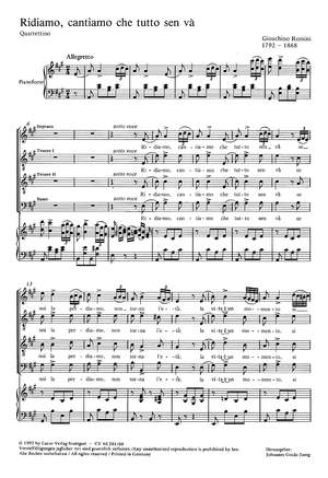 Rossini: Ridiamo, cantiamo (A-Dur)
