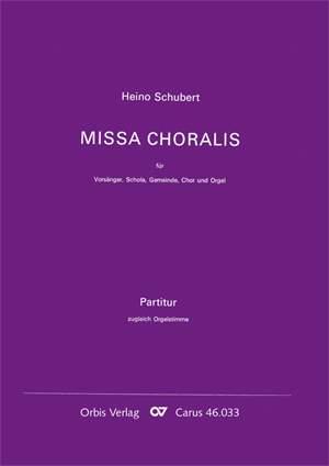 Schubert: Missa Choralis zu GL 401-404