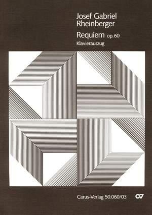 Rheinberger: Requiem in b (Op.60; b-Moll)